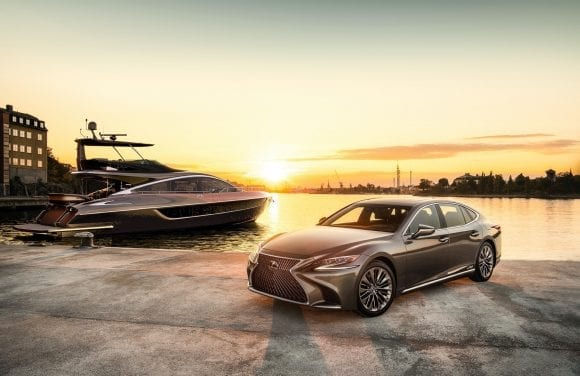 Lexus intră în noua eră a luxului cu iahtul LY 650