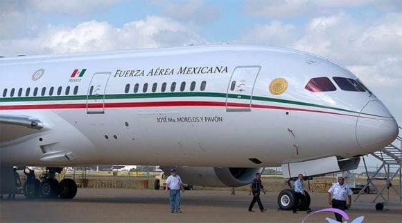 Mexic încearcă să vândă avionul prezidențial, un Boeing 787 Dreamliner