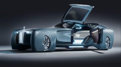 Conceptul experimental Rolls-Royce 103EX a încheiat un tur global de peste trei ani