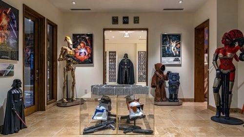 Un conac din LA, cu un muzeu Star Wars la subsol
