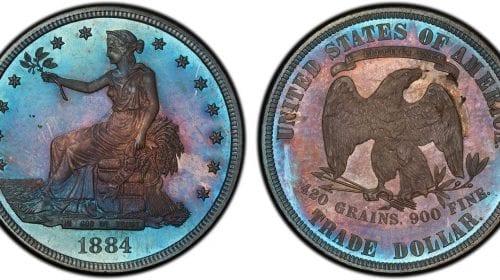 O monedă foarte rară poate ajunge la 500.000 de dolari