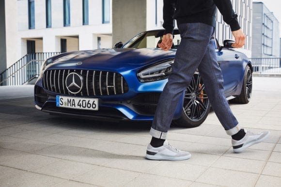 Santoni lansează sneakers performance luxury cu Mercedes-AMG