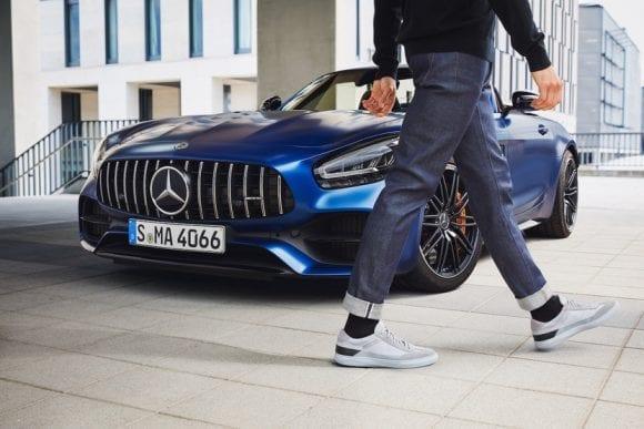 Santoni lansează sneakers performance luxury cu Mercedes-AMG