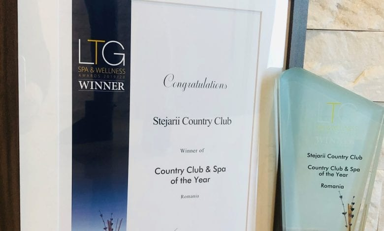 Stejarii Country Club și Shiseido Spa premiate din nou