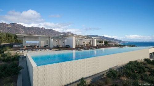 Conacul din Malibu de 100 de milioane de dolari