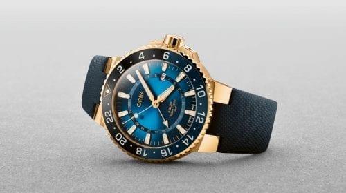 Oris Carysfort Reef Limited Edition, în variantă de aur pentru a salva coralii