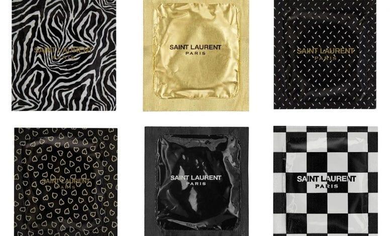 Saint Laurent a lansat un prezervativ de lux