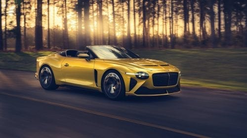 Bentley Mulliner Bacar, noul Grand Tourer luxos cu două locuri