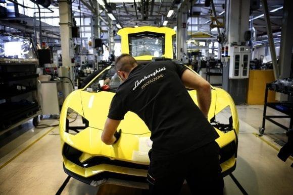 Lamborghini închide temporar o fabrică din Italia din cauza coronavirus