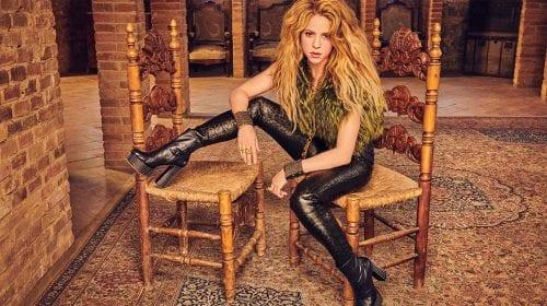 Shakira laudă brandul de parfumuri Puig, care realizează dezinfectant