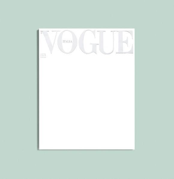 Vogue Italia publică prima copertă albă