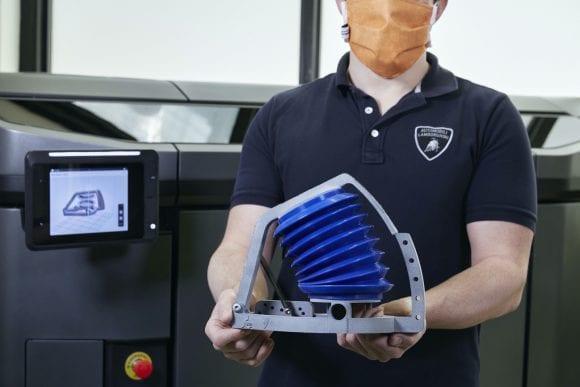 Lamborghini se implică în producția simulatoarelor de respirație artificială