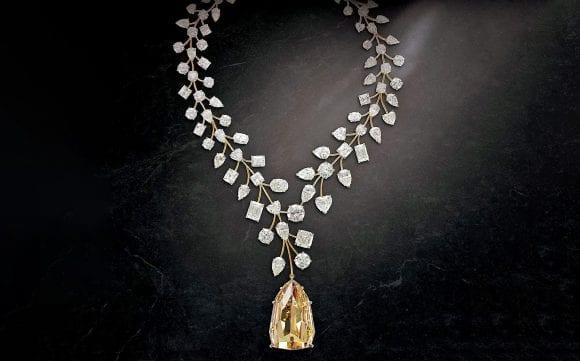 Cel mai scump colier cu diamante din lume
