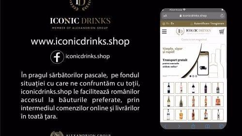 Iconicdrinks.shop le facilitează românilor accesul la băuturile preferate, ȋn pragul sărbătorilor pascale