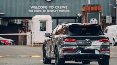 Poze spion cu noul Bentley Bentayga