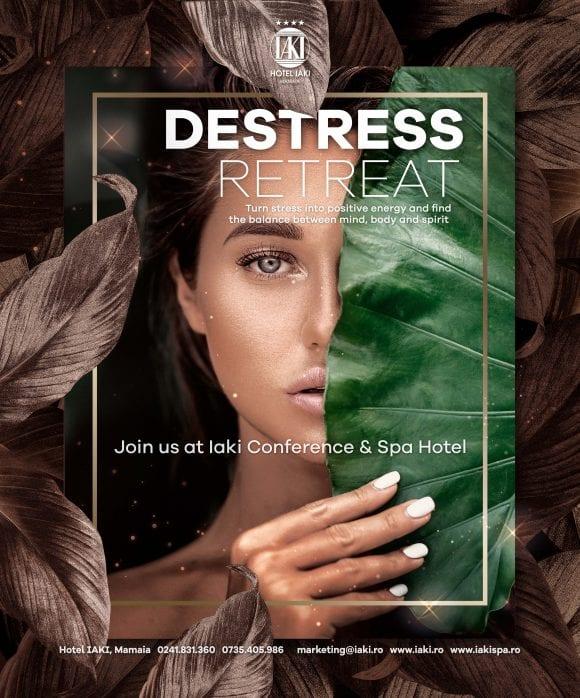 DESTRESS RETREAT – Transformă stresul în energie și obține echilibrul dintre minte, corp și spirit