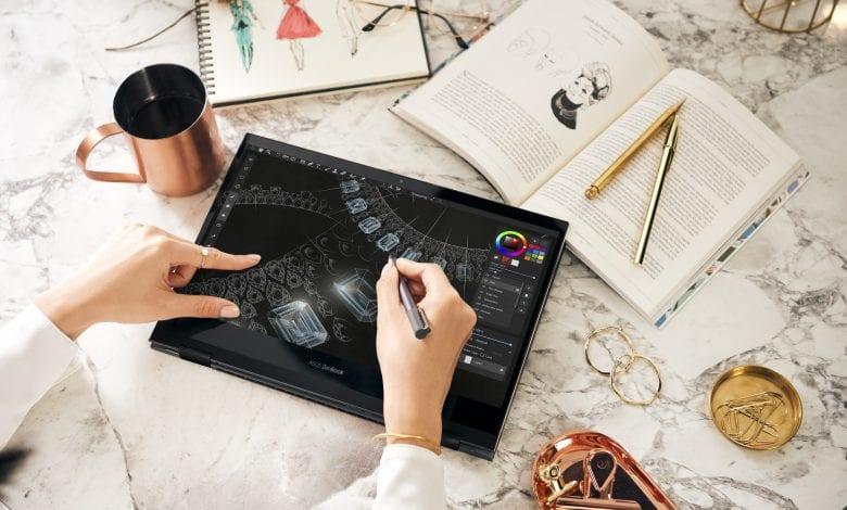 ASUS ZenBook Flip S UX371, un convertibil ultrasubțire echipat cu ecran OLED