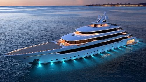 Superyacht de 72 metri realizat de Giorgio Armani împreună cu Italian Sea Group