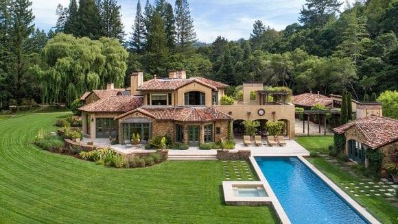 O vilă de 23 de milioane de dolari oferă o mică felie de bella Italia chiar în Silicon Valley