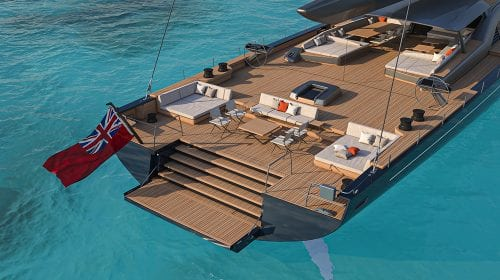 Acest yacht personalizat este proiectat pentru a parcurge distanțe mari la viteze impresionante