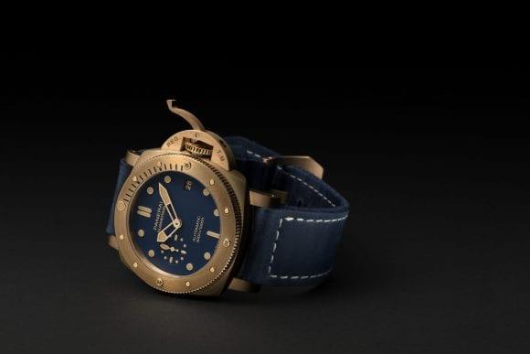 Panerai lansează anul acesta o versiune de 42 mm a emblematicului său Bronzo