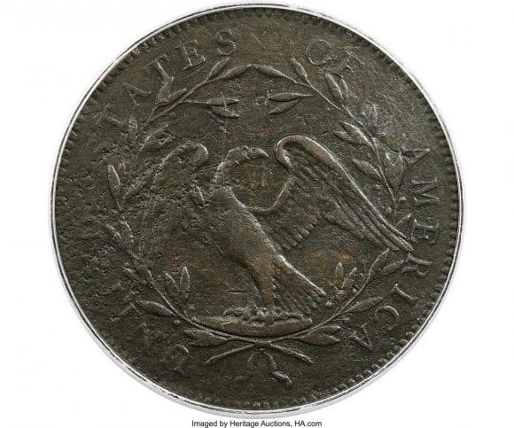 Un prototip al primei monede dolar din SUA s-a vândut la licitație cu o sumă uriașă. Prețul de pornire a fost de 312.000 USD