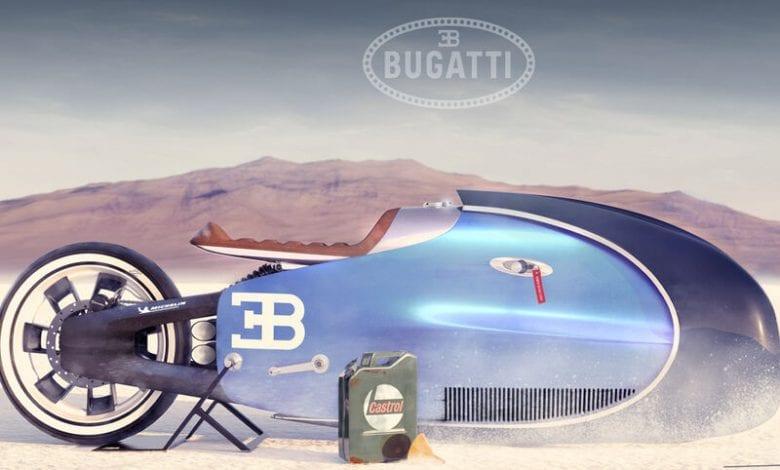 Acest concept de motocicletă Bugatti ar putea deveni realitate