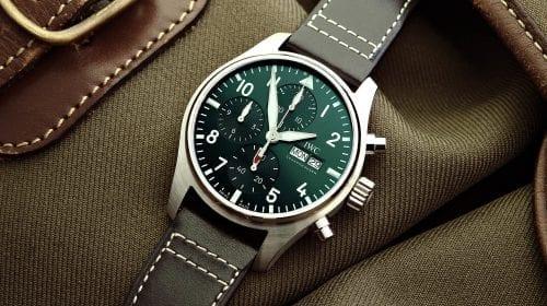 IWC a introdus o nouă versiune de 41 mm a Pilot's Chronograph. Cum arată acesta