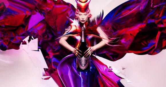 Casa de șampanie Dom Pérignon împreună cu Lady Gaga au creat o campanie de promovare care sărbătorește puterea libertății creative