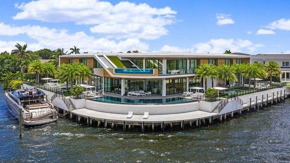 Super vilă de 25 de milioane de dolari, Infinity House, are un view surprinzător