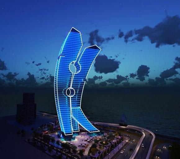 Cea mai mare piesă de artă din lume, un zgârie-nori din Dubai