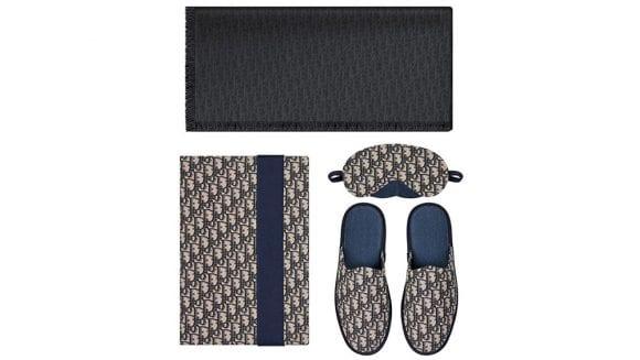 """Noii papuci și masca de somn """"Homekit"""" de la Dior adaugă o doză de lux ținutei de casă"""