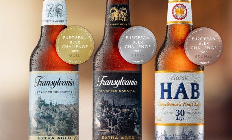 Transylvania Beer, singura bere românească premiată la  European Beer Challenge Londra