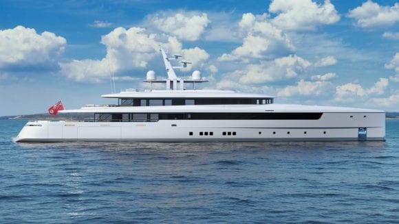 Acest megayacht poate fi primul vas proiectat și construit pe Zoom