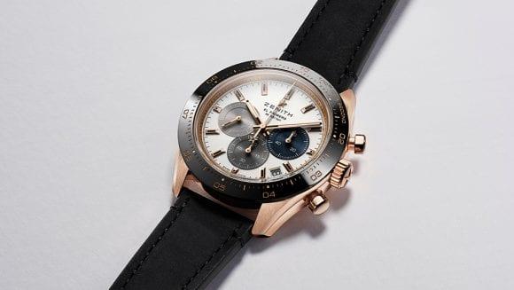 Zenith lansează ceasul Chronomaster Sport în aur roz de 18K