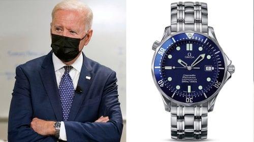 Președintele Biden a purtat un ceas Omega Seamaster în timpul lansării planului American Families. Vezi cât costă