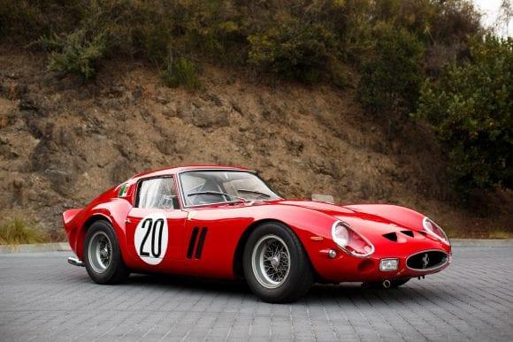 Cel mai scump automobil din lume 1963 Ferrari 250 GTO