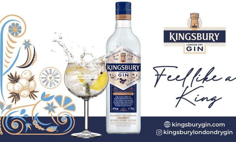 Alexandrion Group lansează KINGSBURY LONDON DRY GIN