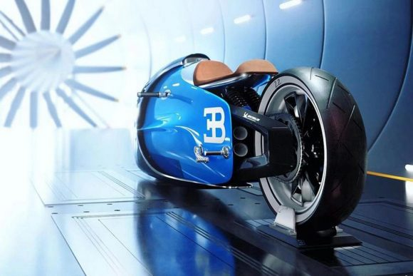 Bugatti Vitesse, motocicleta-concept cu putere masivă în design