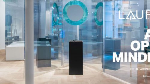 Dialogul între artă și design propus de LAUFEN în cadrul Salone del Mobile 2021