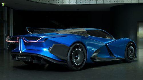 Estrema Fulminea, o hiper-mașină electrică cu 2.000 de cai-putere